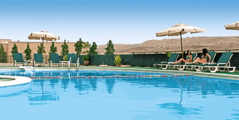 Hotel in Ras Al Khaimah ab 18,00€ die Nacht Vereinigte Arabische Emirate Pool vom Hotel