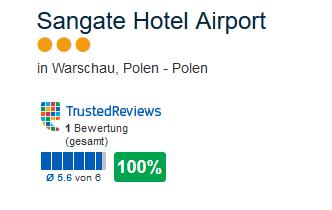 Hotel in Warschau direkt am Flughafen