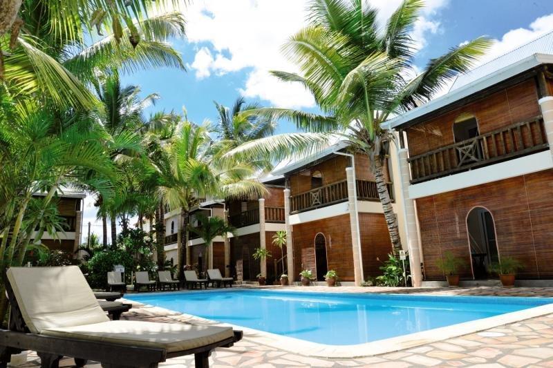 Hotelanlage auf Muaritius im Norden der Insel - nahgelegen am Partyviertel der Insel