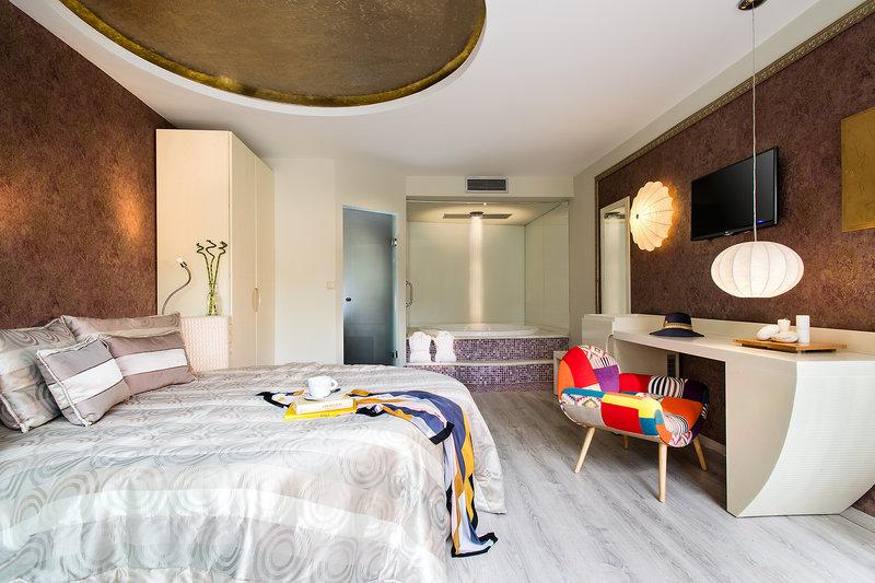 Hotelzimmer Beispiel während Thassos All Inclusive Urlaub in Griechenland
