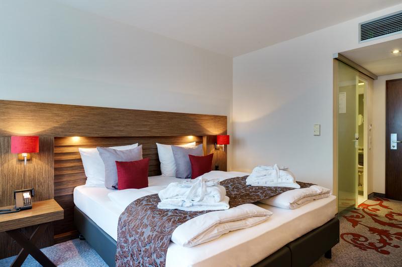 Hotelzimmer - Wellness Hotel Trier Park Plaza 4 - Kurzurlaub Mosel günstig ab 94,99€ pro Person