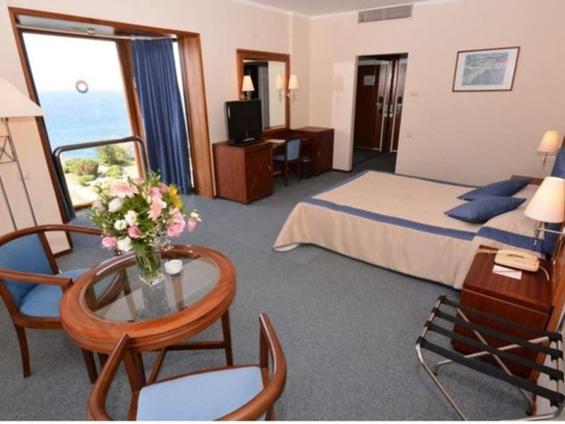 Hotelzimmer des Grand Hotel an der türkischen Ägäis