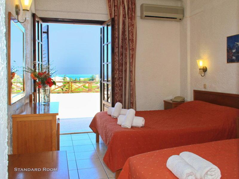 Hotelzimmer im Despo auf Kreta billiger Reisen nach Griechenland