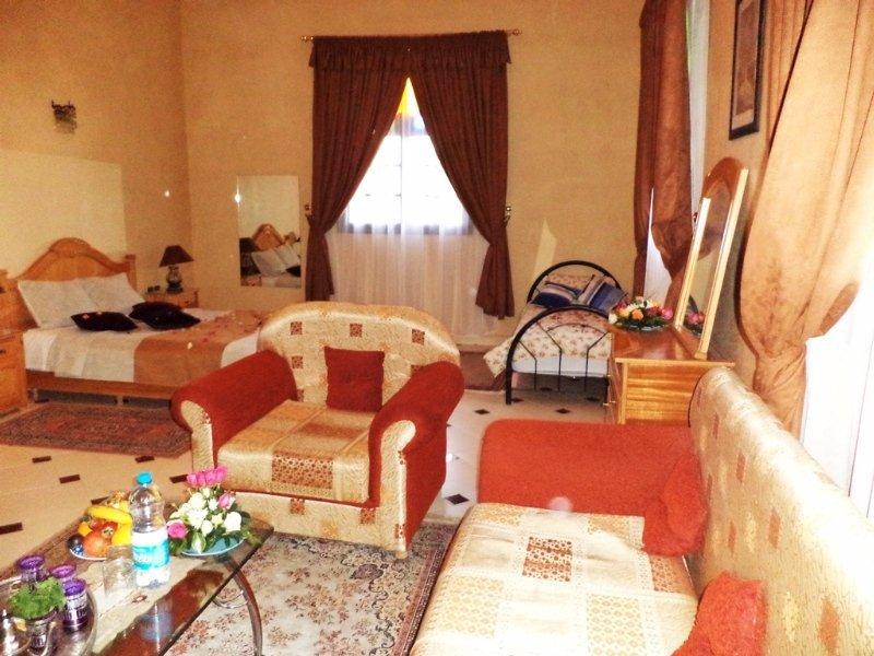 Hotelzimmer im Riad Qodwa Marrakesch