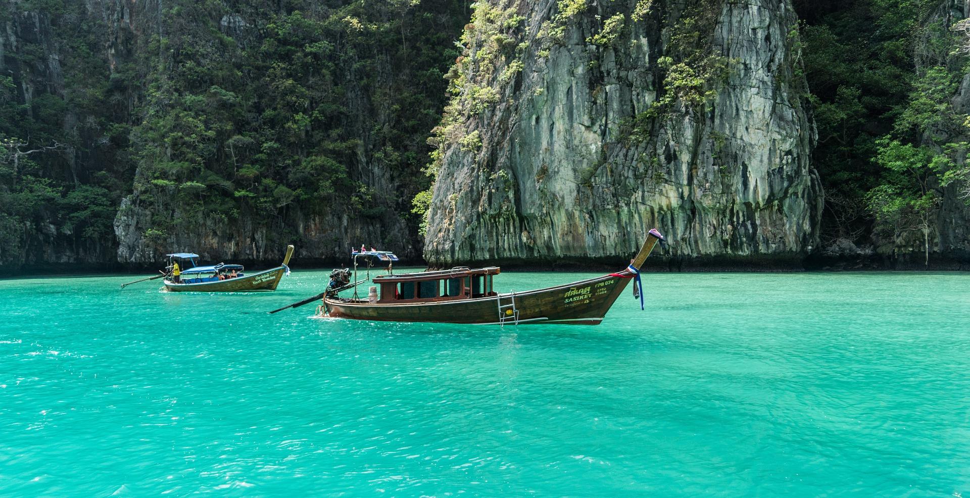 Koh Phi Phi & Koh Lanta Urlaub in Thailand - Unternehmen Sie einen Ausflug von Krabi nach Phi Phi Island
