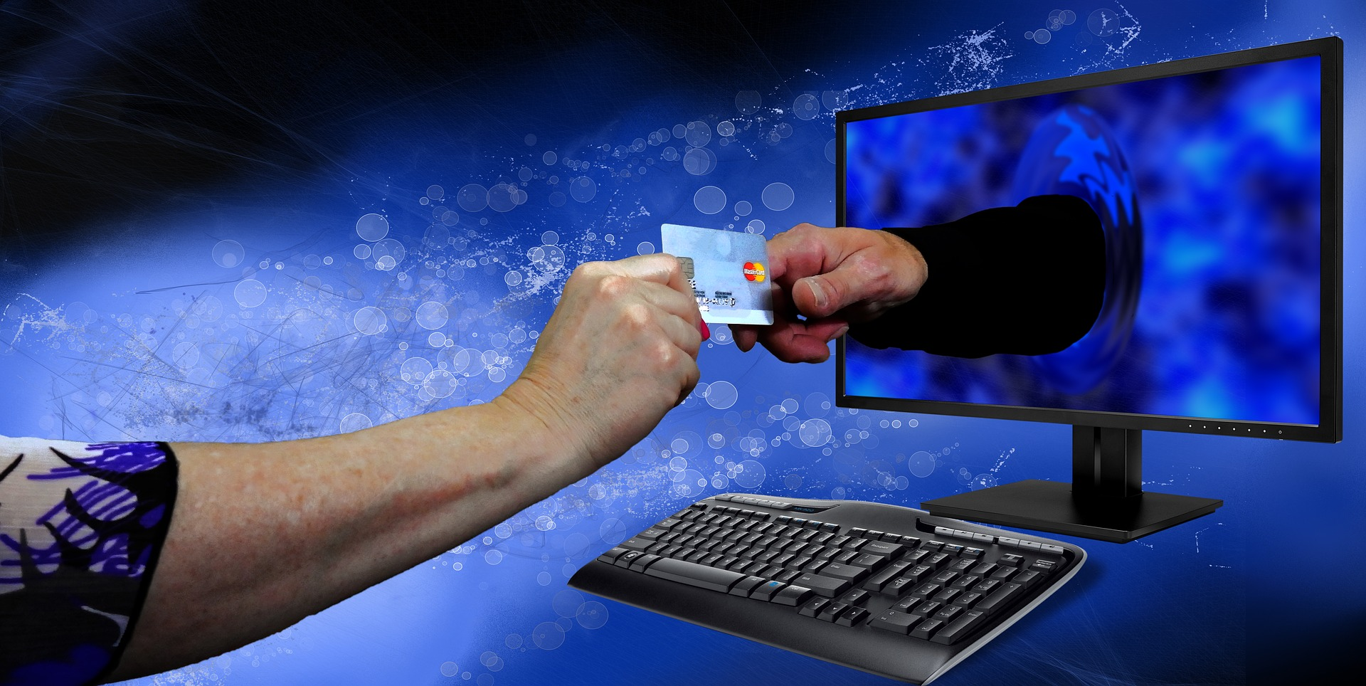 Kreditkarte bei Hotelbuchungen - mit der Prepaid Mastercard sparen - vom PC aus bestellen oder Smartphone