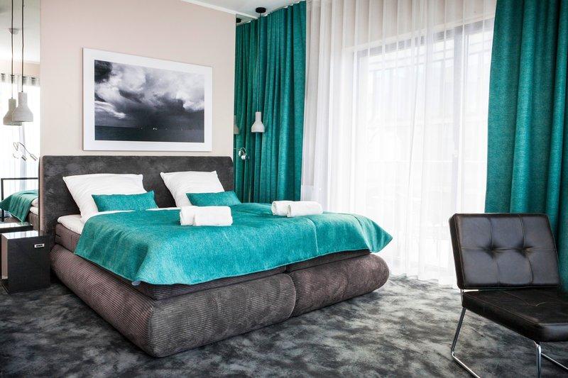 Ostseeurlaub in Polen - Hotelzimmer im Max Kurhaus in Henkenhagen