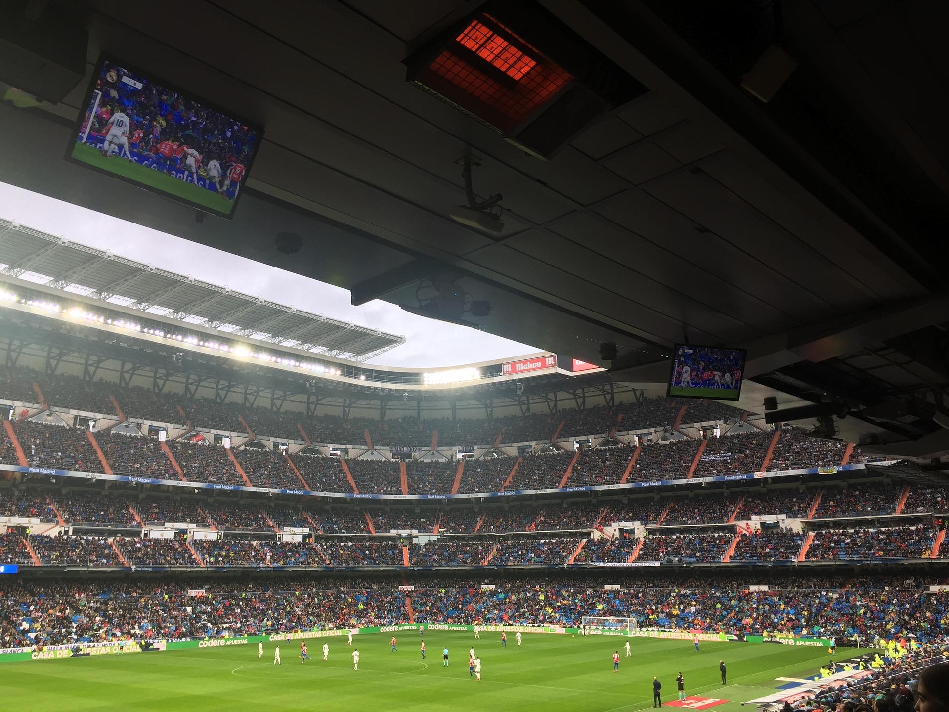La Liga Tickets günstig kaufen Topsiele ab 80,00€ unterer Rang bei Real Madird die Stimmung hier ist überragend