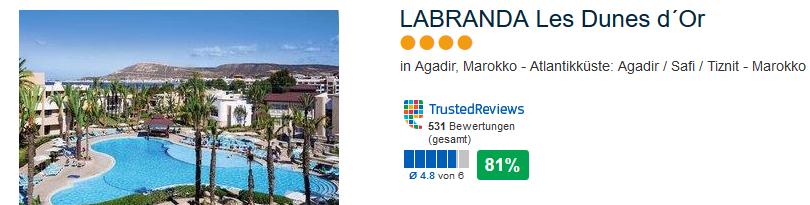 Labranda Les Dunes in Agadir