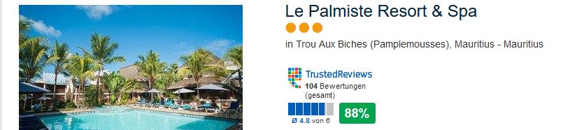 Le Palmiste Hotel Mauritius
