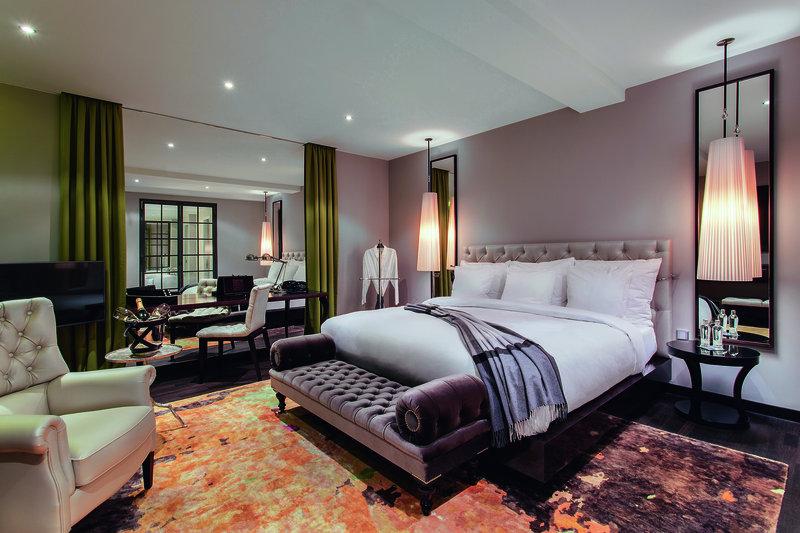 Luxuszimmer im Rooftop Hotel Berlin
