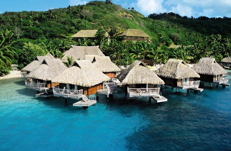 Maitai Polynesia das günstigste Hotel im Atoll