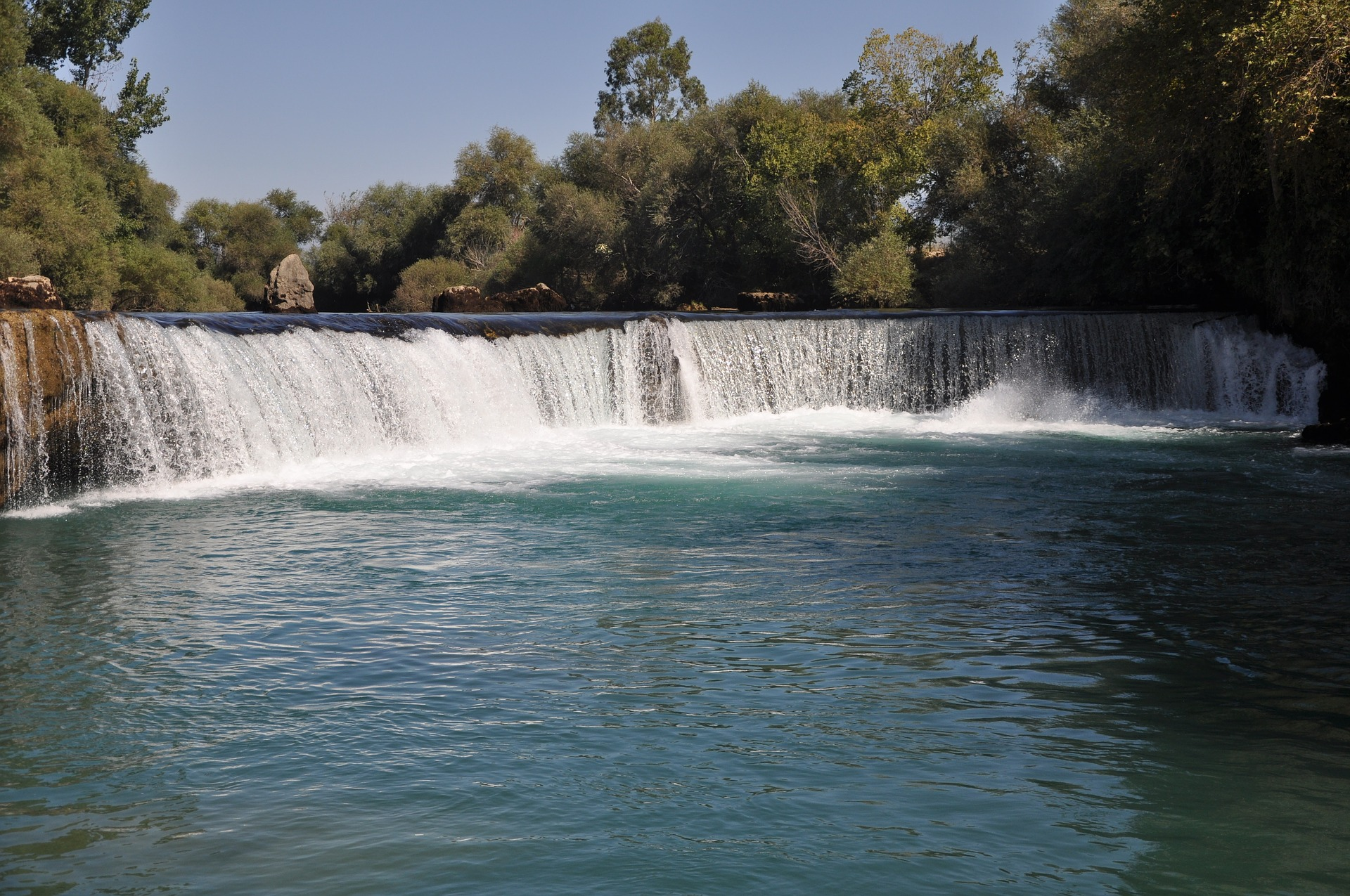 Manvagat Wasserfälle in der Türkei