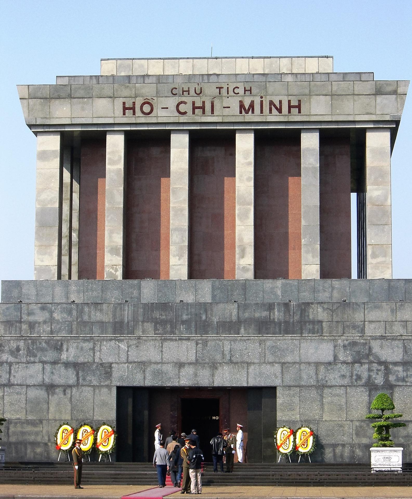 Mausoleum Hanoi - Ho Chi Minh