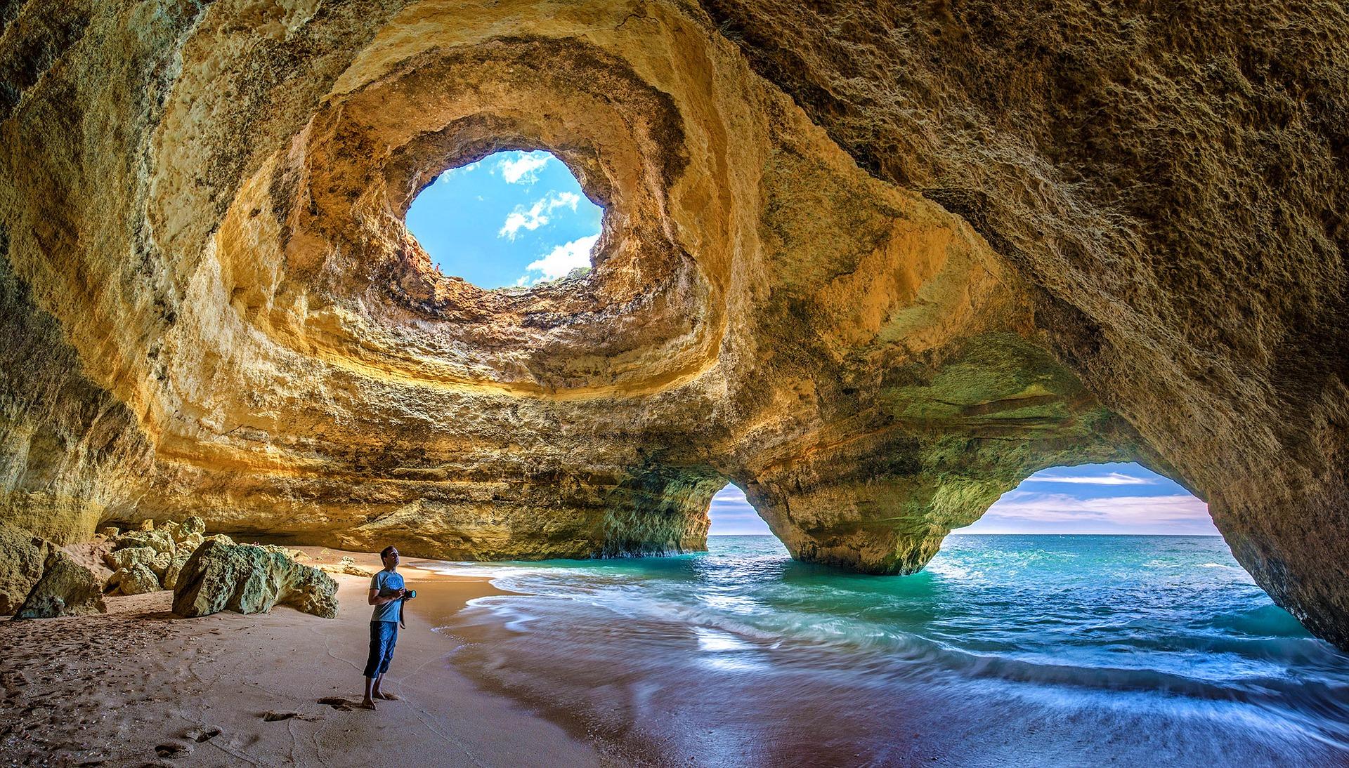 Meereshöhle - Algarven Portugal