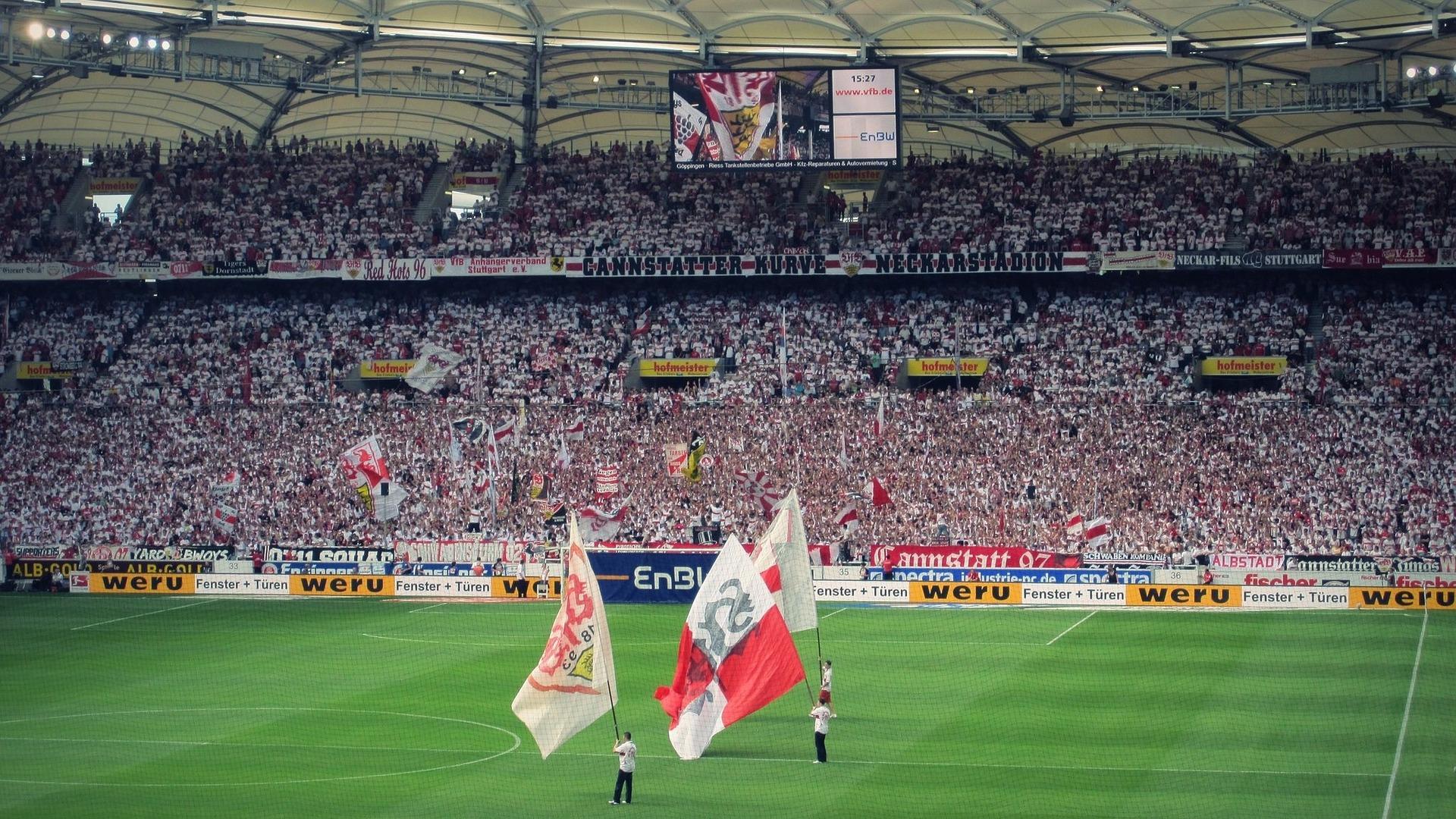 Mercedes Benz Arena in Stuttgart - Bundesliga
