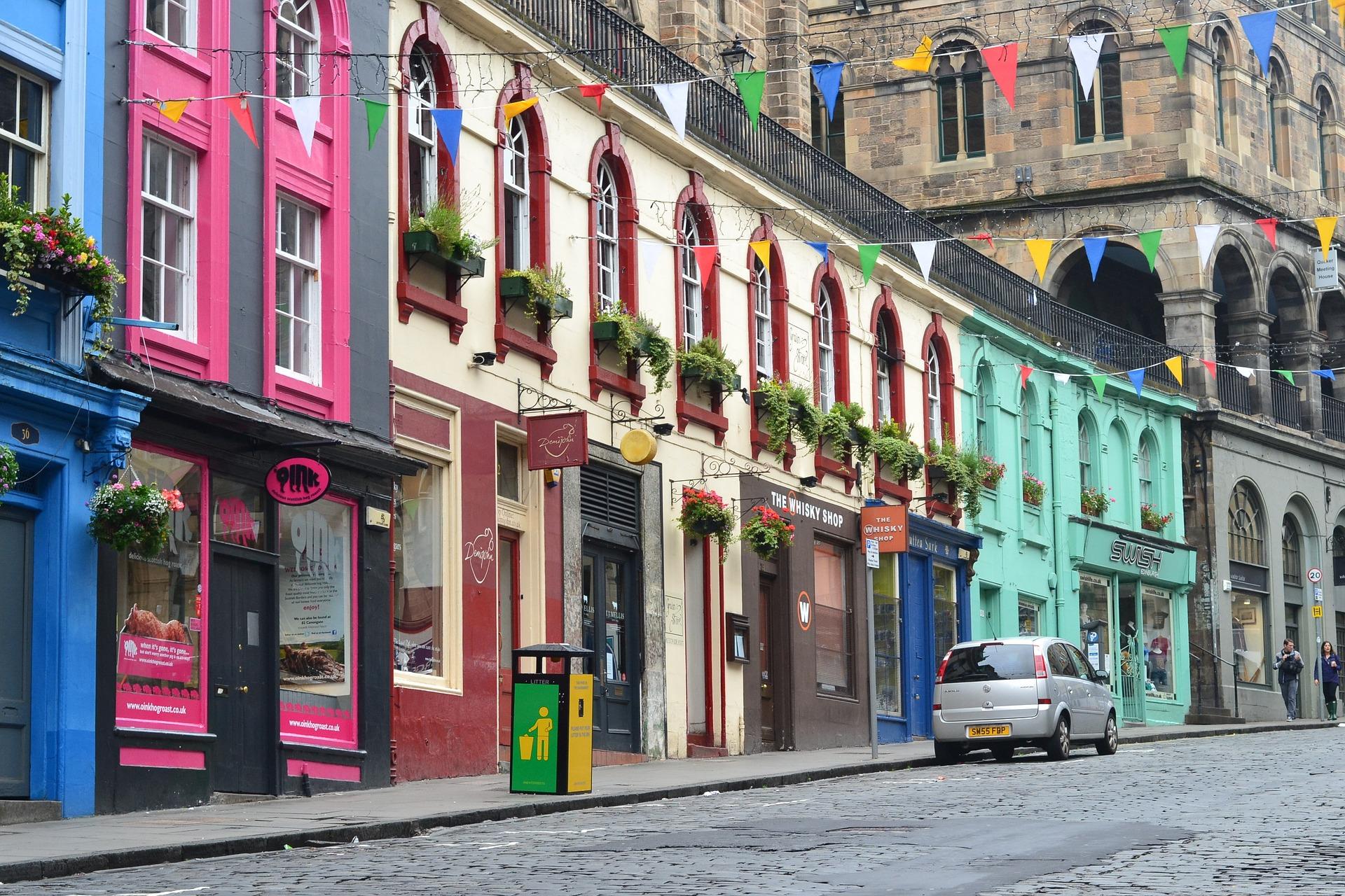 Pauschalreise nach Edinburgh ins Schlosshotel