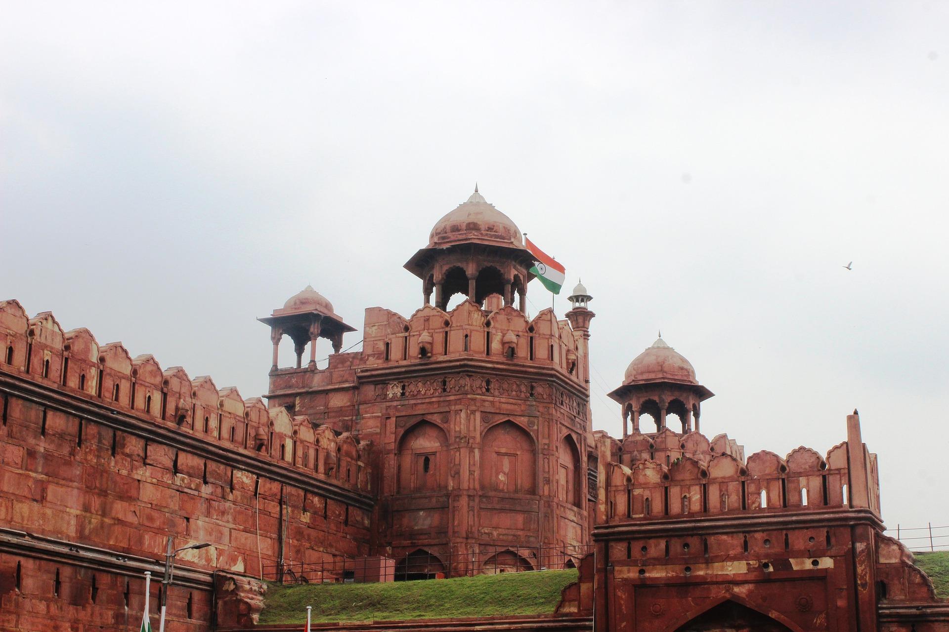 Pauschalreise nach Indien Delhi's Red Fort