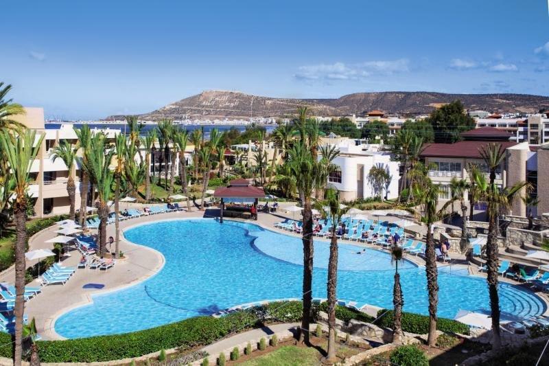 Pool im Hotel in Agadir