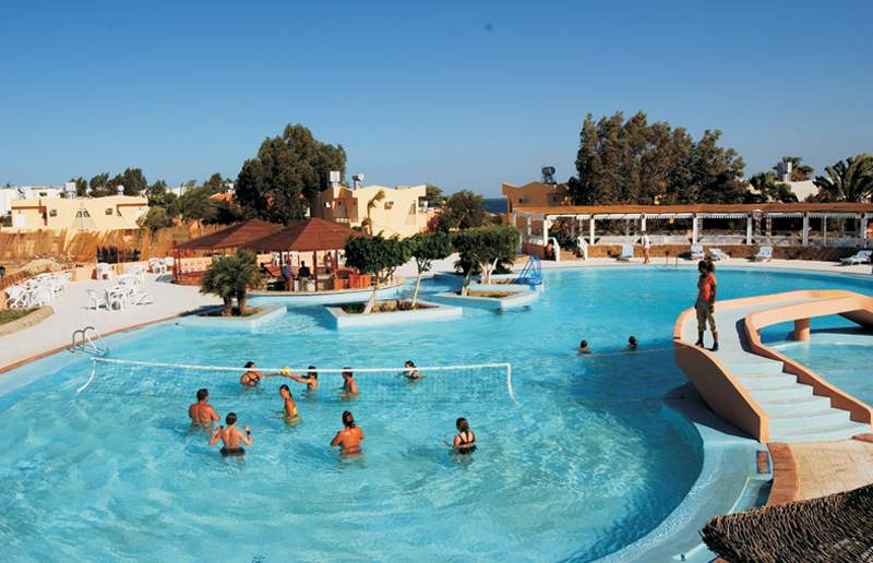 Pool im Sol y Mar Paradise Beach All Inclusive Urlaub eine Woche Ägypten