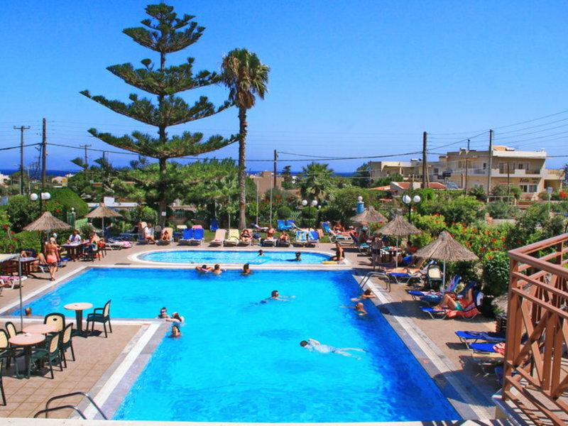 Poolanlage vom Despo Hotel auf Kreta günstig Urlaub in Griechenland Buchen