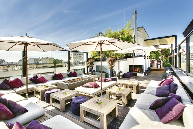 Rooftop Lounge in Berlin