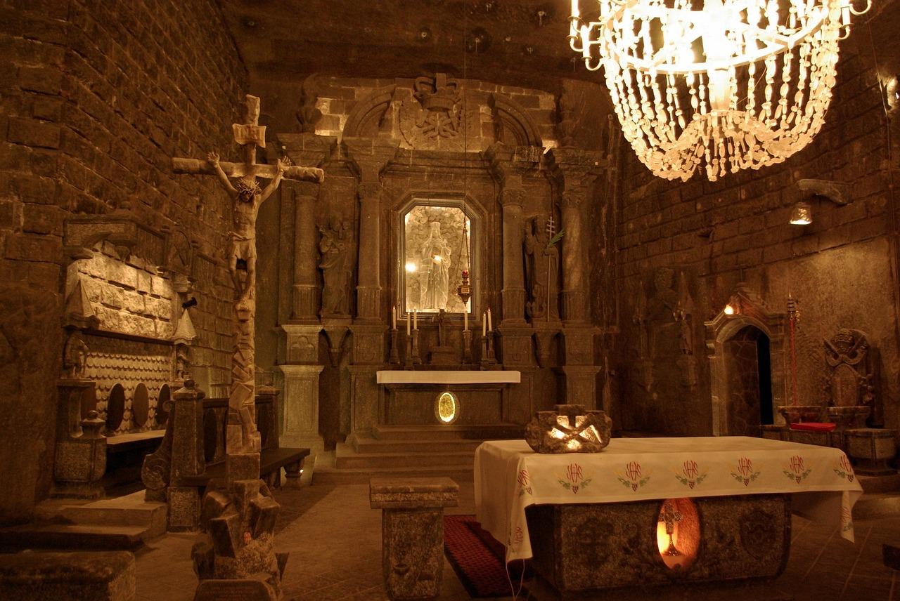 Salzbergwerke in Krakau - Gebetsräume für die damaligen arbeiter