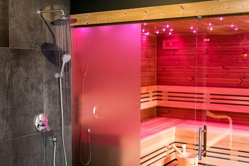 Sauna im Pytloun Wellness Hotel Harrachov 4 Sterne