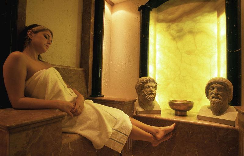 Sauna im Wellness Hotel Trier Park Plaza 4 - Kurzurlaub Mosel günstig ab 94,99€ pro Person