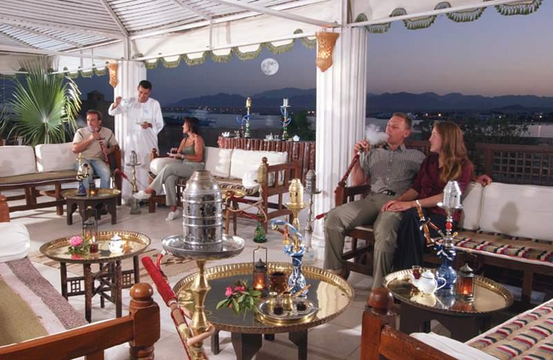 Schischa rauchen und chillen in Hurghada im Hotel Sol Y Mar Paradise Beach