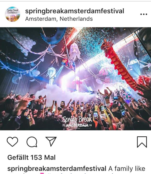 Screenshot Amsterdam Spring Break Festival in Amsterdam