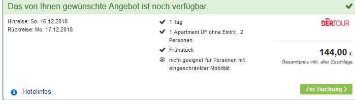 Screenshot Deal Badeurlaub in Bayern - Therme Erding günstig ab 72,00€ im Victory Gästehaus