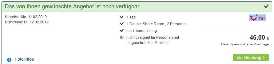 Screenshot Deal Cairns günstiges Hotel buchen Bohemia Resort ab 23,00€ die Nacht