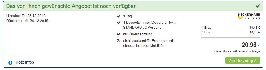 Screenshot Deal Rooftop Bar Berlin im Hotel Amano Nacht ab 10,48€