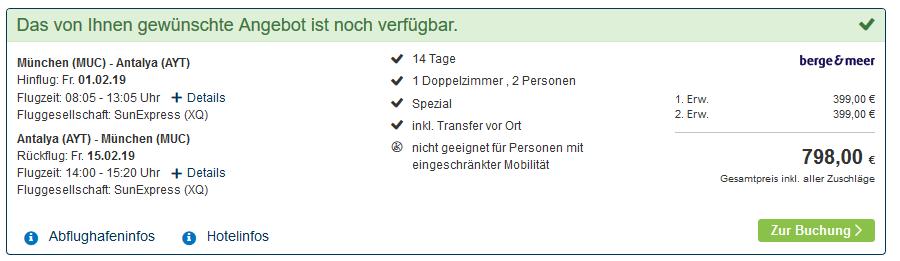 Screenshot Deal Rundreise in Kappadokien 15 Tage schon günstig ab 399,00€