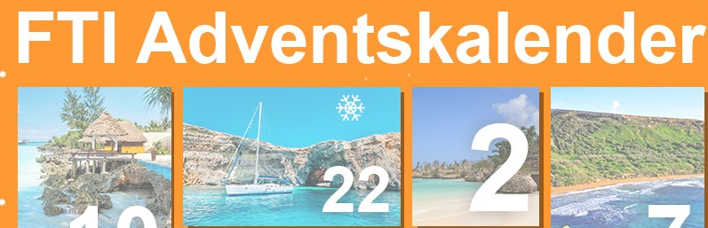 Screenshot FTI Adventskalender