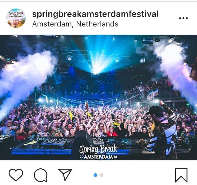 Screenshot IG Spring Break Amsterdam