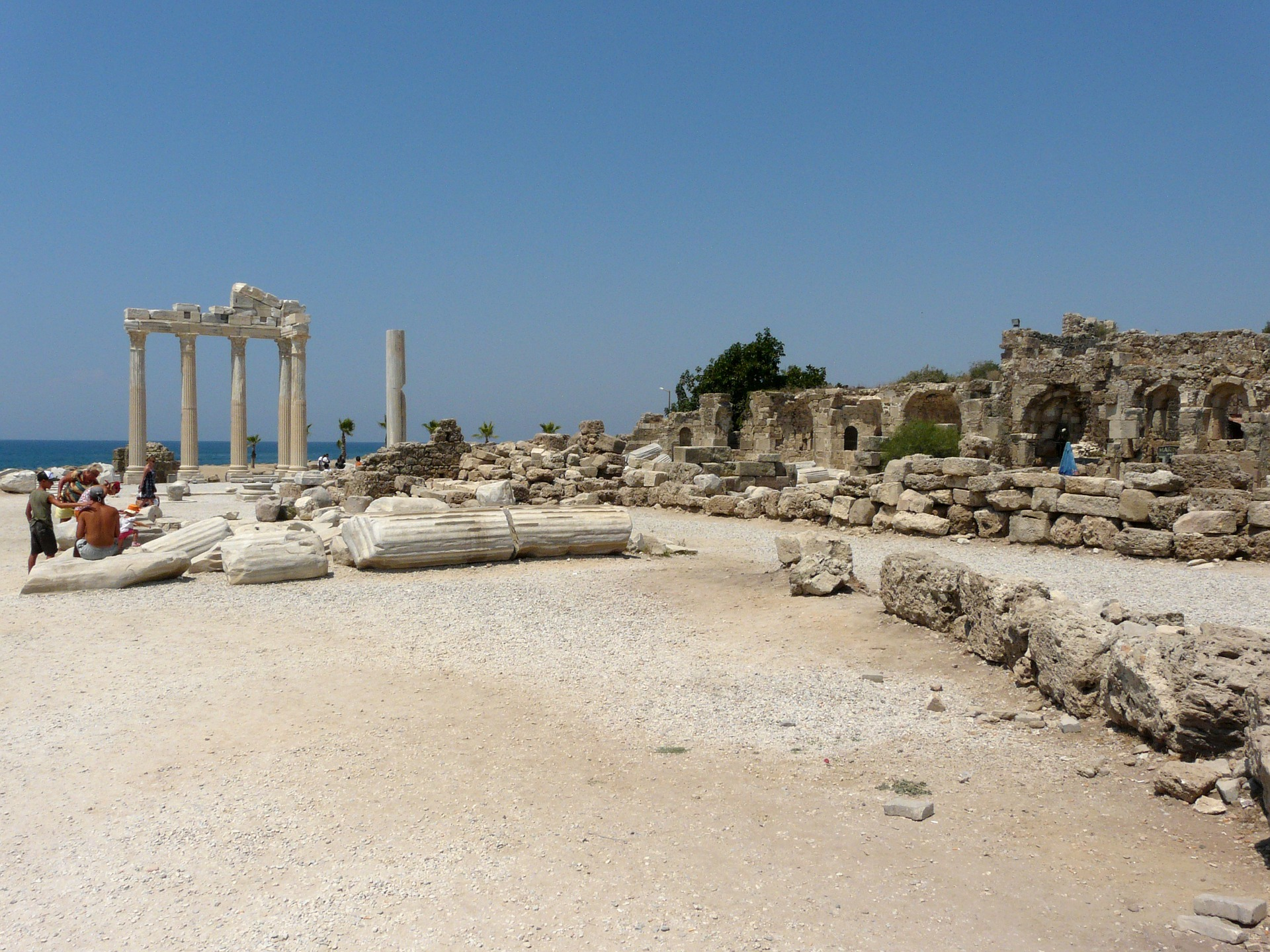 Side Ferien - entdecken Sie die alten Ruinen der Römer in Alanya