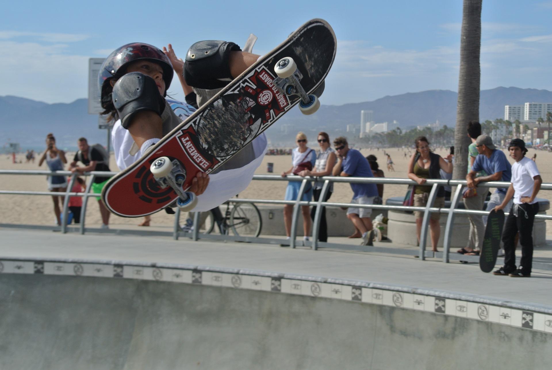 Skaten ist in Los Angeles schon fast eine selbstverständlichkeit