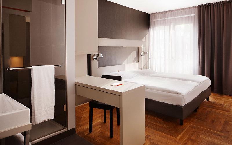 So sehen die Zimmer im Novo Hotel in der nähe zum Alexanderplatz aus