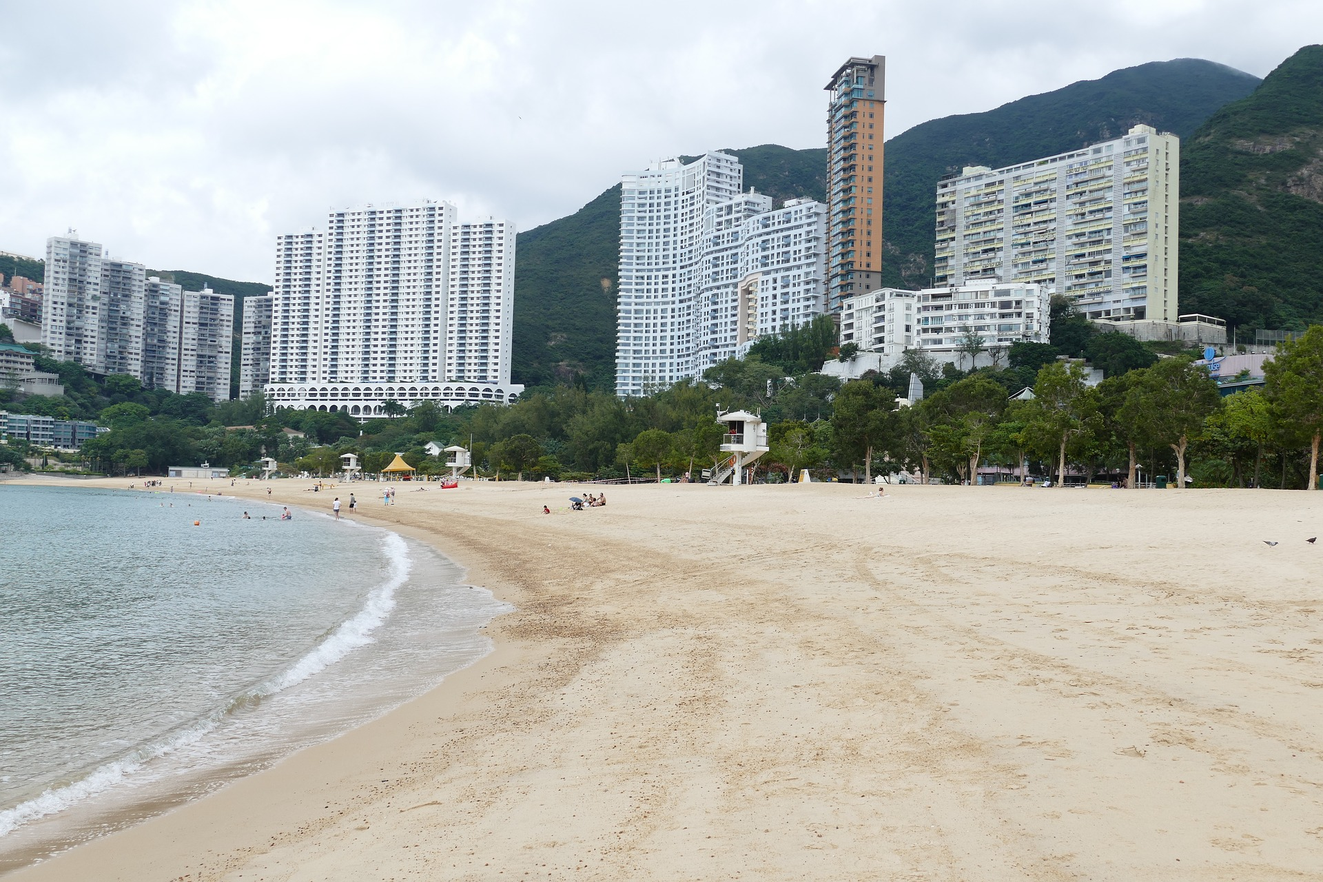 Städtereise China 10 Nächte - Strand von Hongkong
