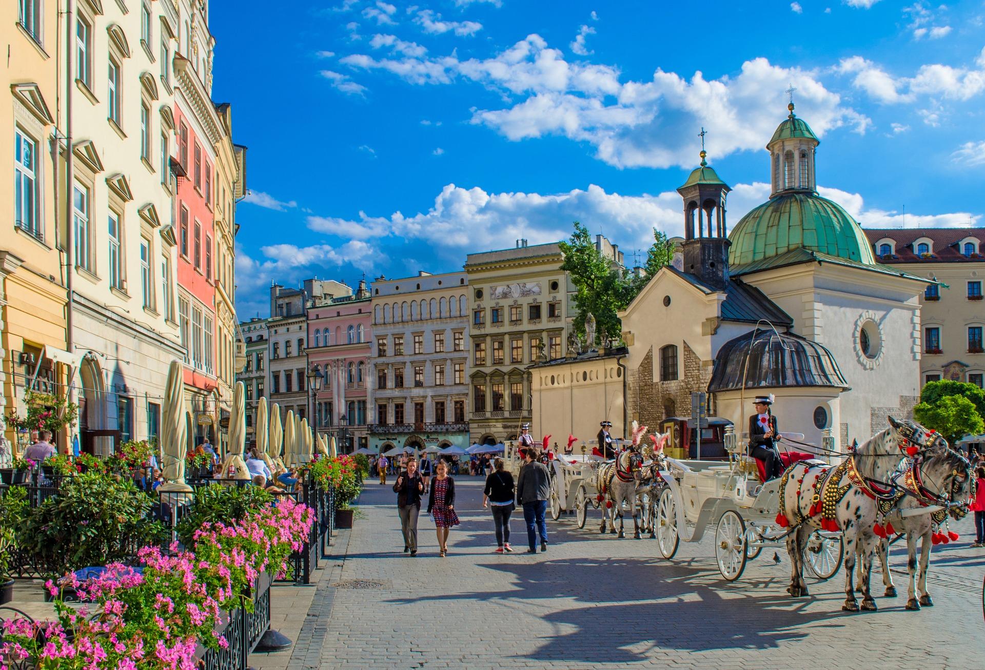 Städtereise Krakau günstig buchen ab 14,00€ die Nacht im Hotel