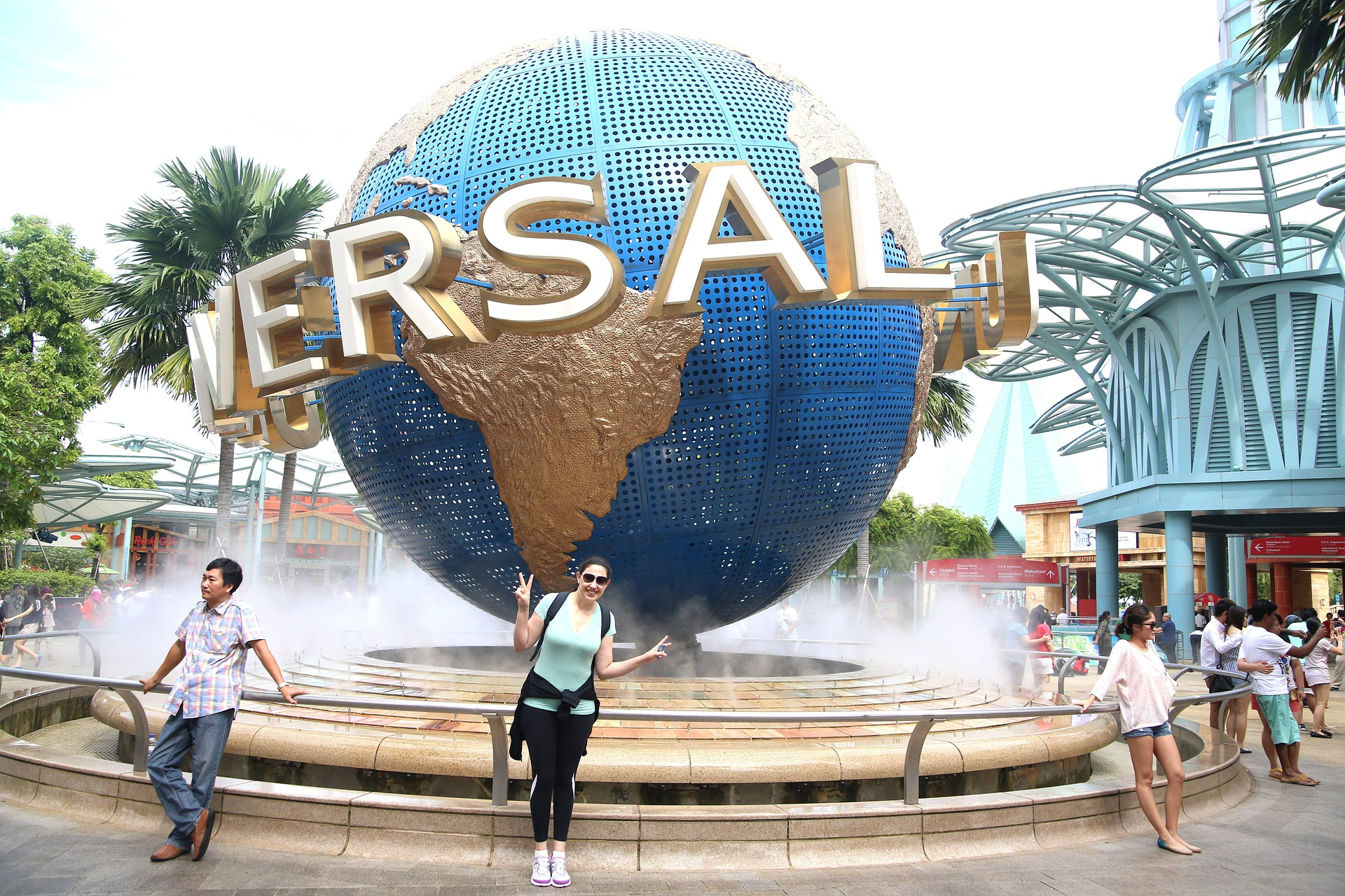 Städtereise ins Universal Studios Singapur