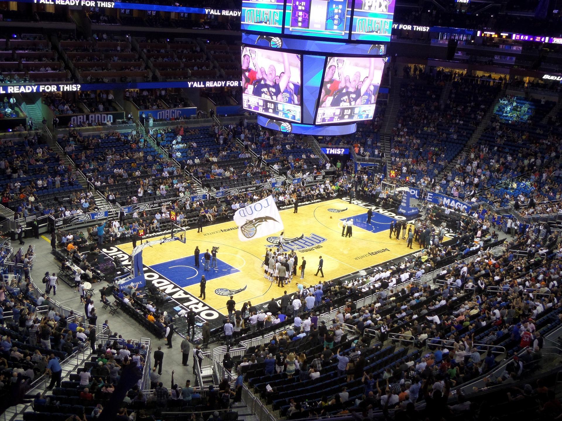 Städtereise nach Orlando - NBA gucken im Stadion der Basketeballmannschaft Orlando Magic - NBA Spiel Orlando Ticket