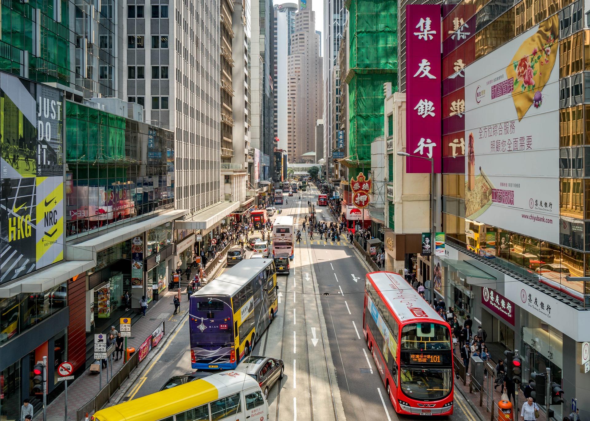 Städtereisen China 10 Nächte Hongkong Innenstadt
