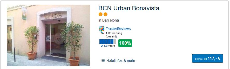 Städtetrip nach Barcelona - Pauschal günstig buchen ab 117,00€ pro Person