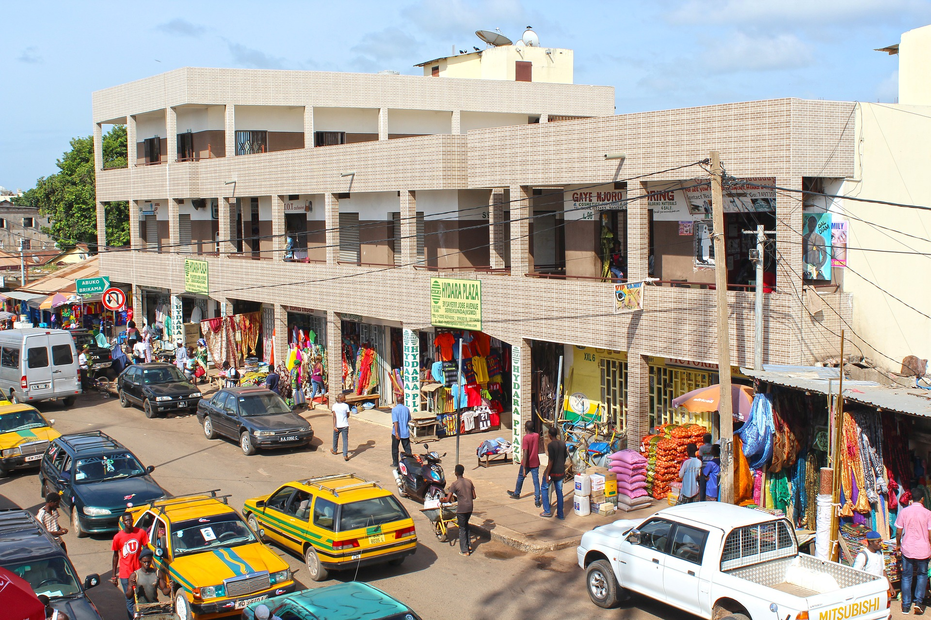 Stadtkern von Serekunda