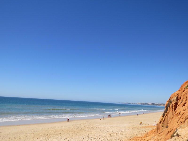 Steilküste - Urlaub an der Algarve in Portugal