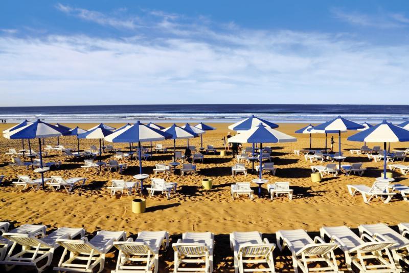 Strand am Labranda Les Dunes d´Or 4 Sterne in Marokko