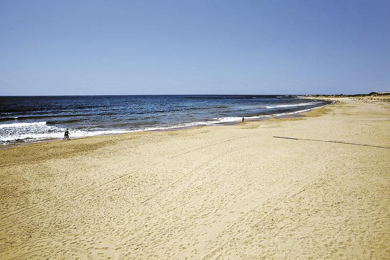 Strand am Side Star an der türkischen Riviera